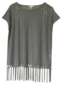 Charming Charlie Top Light grey