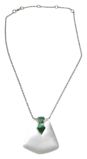 Preload https://img-static.tradesy.com/item/19752920/alexis-bittar-whitegreen-deco-lucite-crystal-kite-baguette-and-nbsppendant-necklace-0-1-540-540.jpg