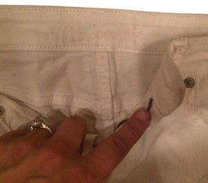 Abercrombie & Fitch and Aeropostale Lot Mini/Short Shorts Khaki corduroy and white jean
