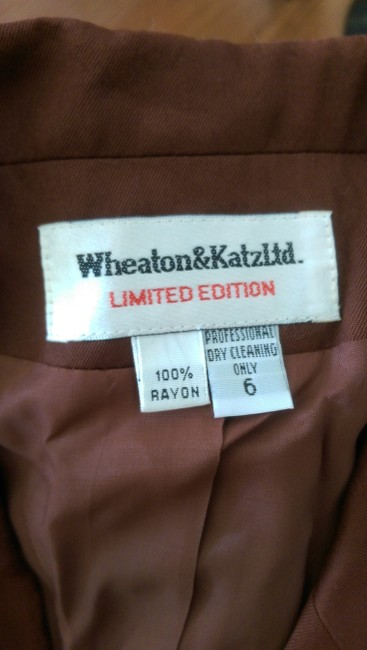 Wheaton & Katz Ltd. Limited Edition Vintage Vintage Jacket Jacket brown Blazer