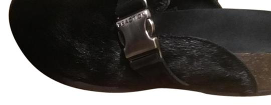 Kenneth Cole Reaction Black Mules Image 0