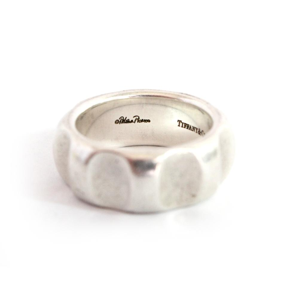 fbeaecf18 Tiffany & Co. Sterling Silver Paloma Picasso True Love Groove Ring. 1234