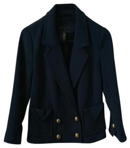 Banana Republic Jacket Coat Navy Blue Blazer