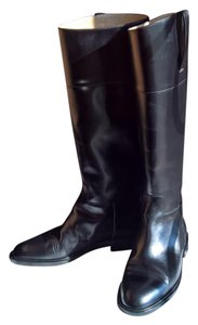 Michael Kors Collection Riding Boot Black Boots