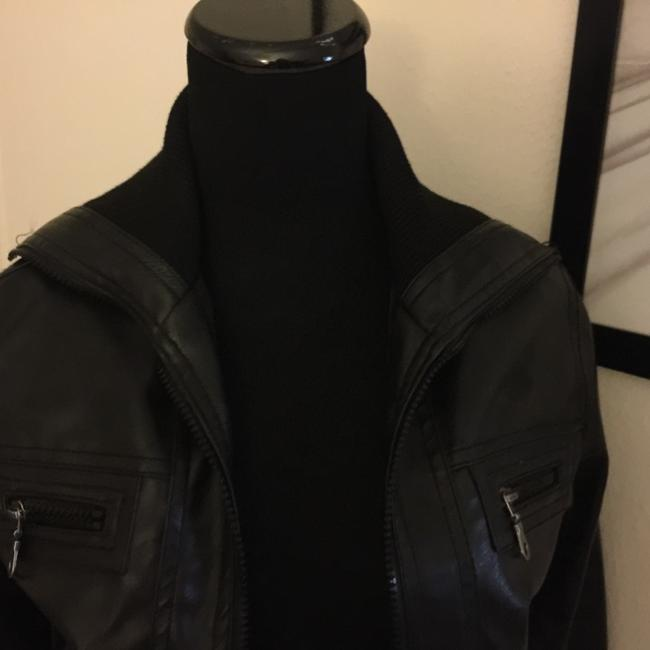 Max Azra by Miley Cyrus Leather Jacket