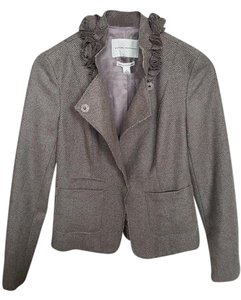 Banana Republic Coat Tan & Taupe Tweed Jacket