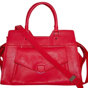 Proenza Schouler Satchel in Poppy Red