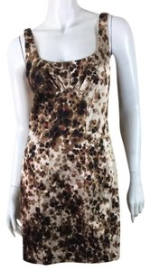 David Meister short dress Printed on Tradesy
