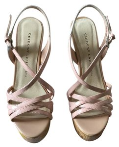 Chinese Laundry Patent dusty rose/ off white Sandals