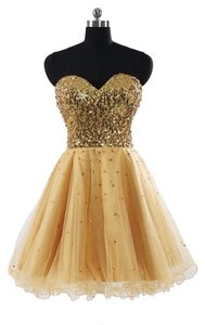 Prom Sweetheart Sequin Dress