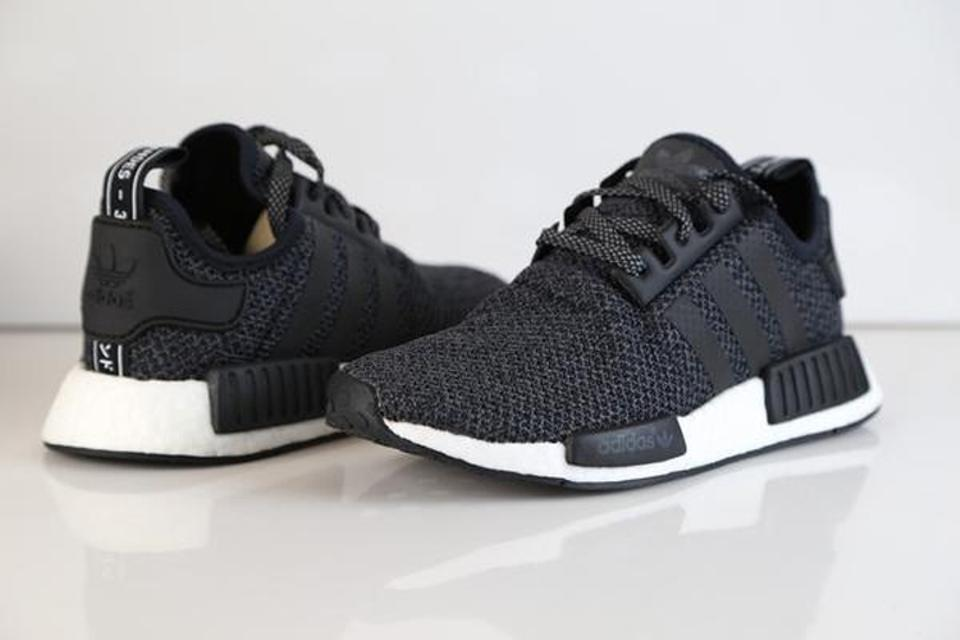 another chance a8a70 3780c adidas Black Nmd R1 J Exclusive Kanye West Wool Champs Boost Ultra Sneakers  Size US 7 Regular (M, B)