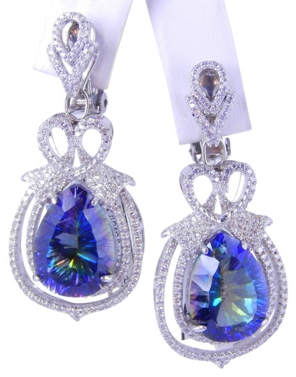 9.2.5 EXQUISITE DANGLING EARRINGS WITH MYSTIC BLUE QUARTZ AND MICRO SET CZS