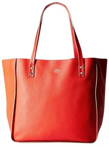 Vince Camuto Leather Tote in Red