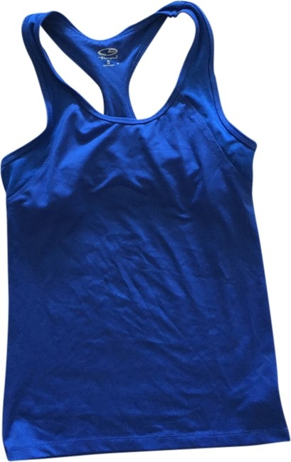 Preload https://item1.tradesy.com/images/champion-blue-tank-sexy-1975395-0-0.jpg?width=400&height=650