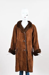 Other Vintage Lamb Mink Suede Coat