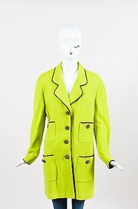 St. John Collection Black Green Jacket