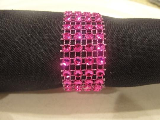Preload https://img-static.tradesy.com/item/19754035/hot-pink-150-bling-rhinestone-style-napkin-rings-4-rows-quniceanera-baby-shower-reception-decoration-0-2-540-540.jpg