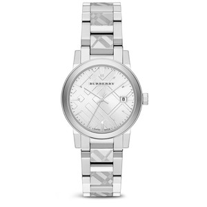 Burberry Burberry Check Etched Bracelet Watch 34mm