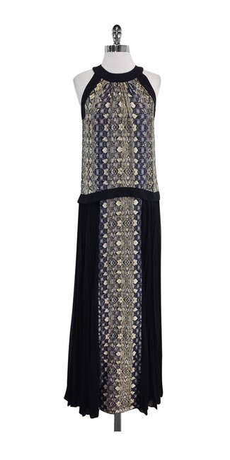 Preload https://img-static.tradesy.com/item/19754730/black-and-snakeskin-print-long-casual-maxi-dress-size-2-xs-0-0-650-650.jpg