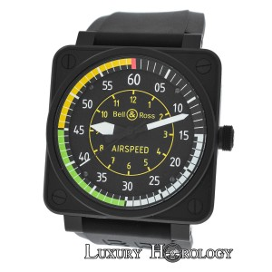 Bell & Ross Men's Bell & Ross Airspeed BR01-92-SAS-586/999 Limited Ed PVD