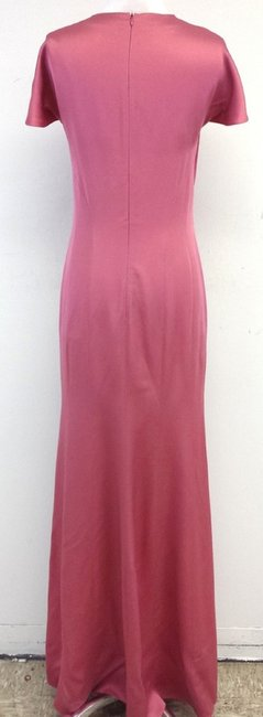 Pink Maxi Dress by Moschino Cap Sleeve Maxi Gown