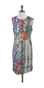 Nanette Lepore short dress Abstract Floral Sheath on Tradesy