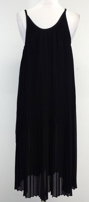 Bruno Grizzo Pleated Spaghetti Strap Dress