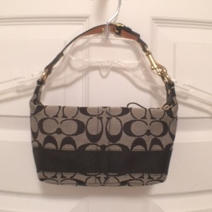 Coach Logo Signature Hobo Bag