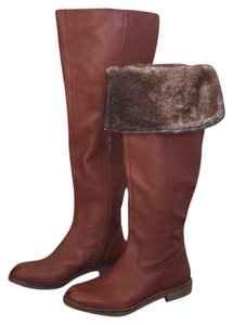 Lucky Brand Chestnut Brown Boots