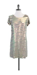 French Connection short dress Blush Sequin Shift on Tradesy