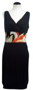 Kay Unger Sheath Silk Dress