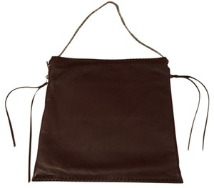 AllSaints Tote in Burgandy