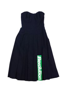 Marc by Marc Jacobs short dress Navy Wool Revolution on Tradesy