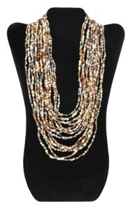 TLC Beaded Tiered Necklace - Multi (Brand New)