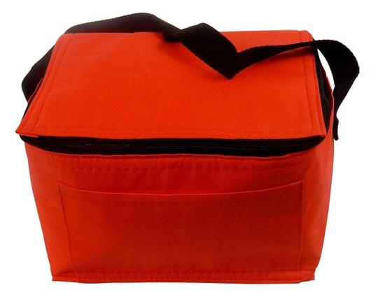 Prime Line Insulated Lunch Lunch Box Lunch Box Tote in Red