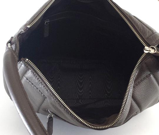 Brooks Brothers Large Leather Shoulder Bag
