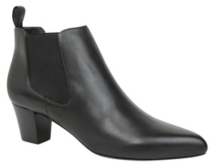 Gucci Leather Ankle Black Boots