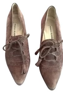 Manolo Blahnik Chocolate Pumps