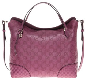 Gucci Bree Satchel in Ruby