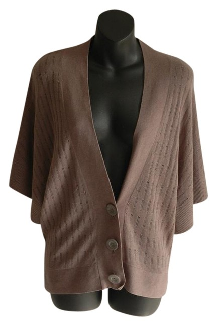 Preload https://img-static.tradesy.com/item/19755486/club-monaco-brown-cashmere-blend-loose-fit-v-neck-cardigan-size-4-s-0-1-650-650.jpg