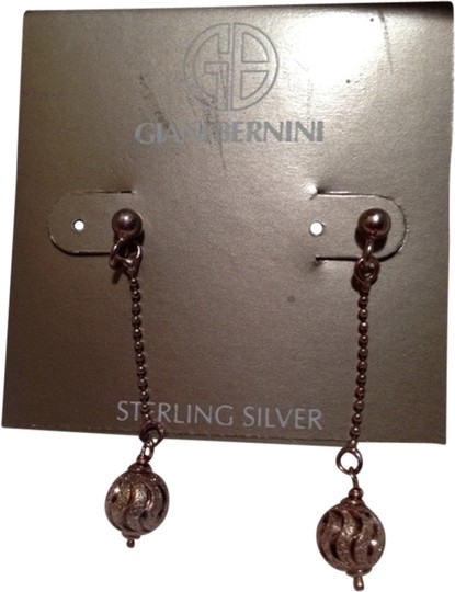 Giani Bernini Sterling Sliver Drop Earrings