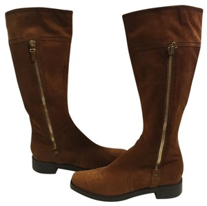 Sergio Rossi Reddish brown Boots
