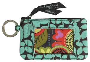 Vera Bradley Zip ID Case in Disney Parks Mickey's Perfect Petals