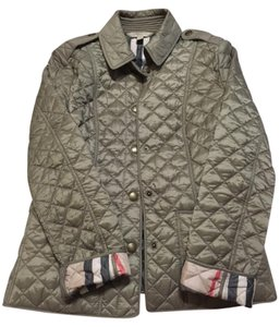 Burberry Brit Quilted Pale Fawn Jacket