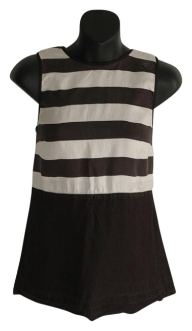 Preload https://img-static.tradesy.com/item/19755713/club-monaco-black-sleeveless-striped-white-blouse-size-2-xs-0-1-650-650.jpg