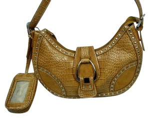 Nine West Alligator Cellphone Hobo Bag