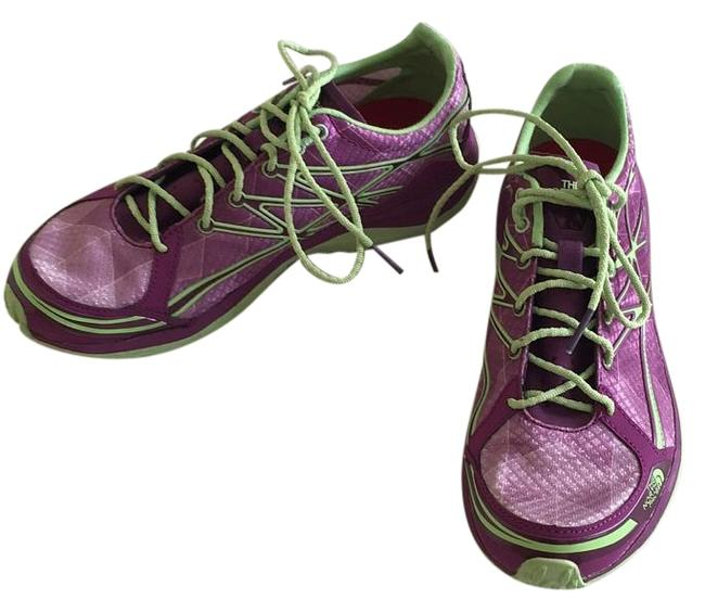 Item - Purple and Green Sneakers Size US 7 Regular (M, B)