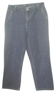 Gap Est 1969 2 Xs Dark Demin Wash Boot Cut Jeans-Dark Rinse