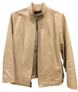 Banana Republic Leather Motorcycle Fall Motorcycle Jacket