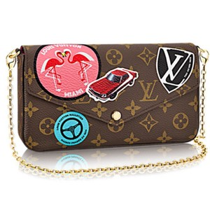 7a2b09395839 Louis Vuitton Cross Body Bag. Louis Vuitton Felicie Lv World Tour ...